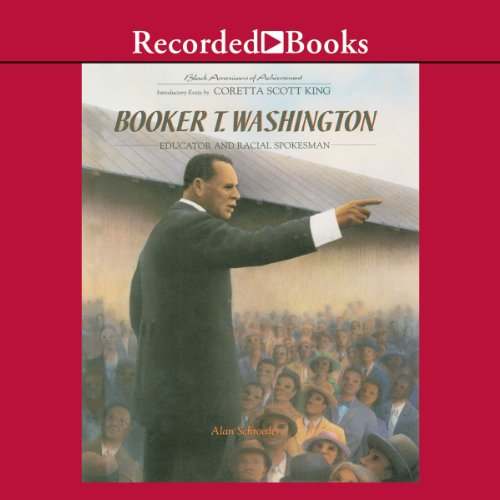 Booker T. Washington audiobook cover art