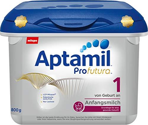 Aptamil Profutura 1 Milch für Milchmilch in Pulverform ab der Geburt bis zum 6. Monat, 800 g