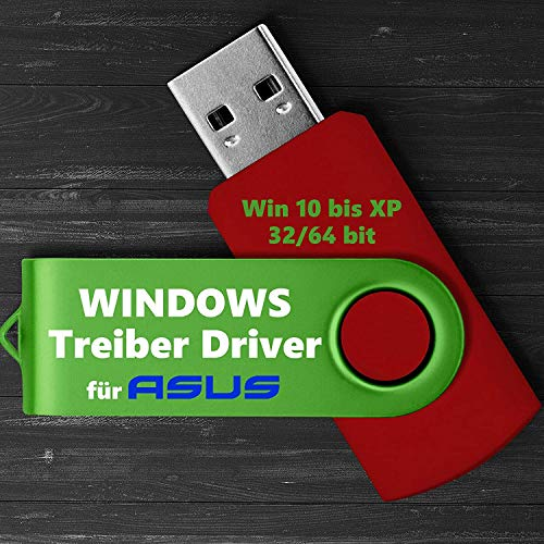 ASUS Treiber Software USB STICK Windows 10 8 7 XP Vista PC Recovery 2021 NEU