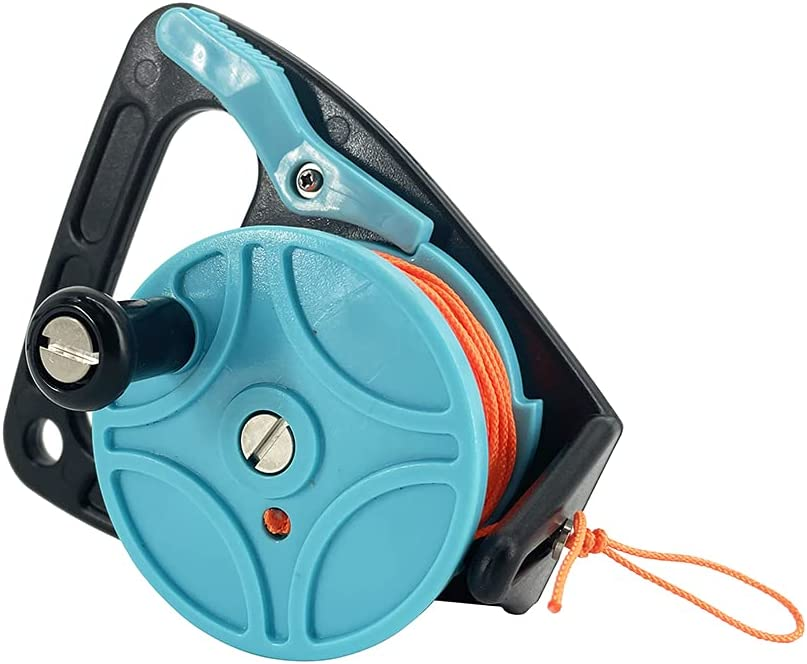 Scuba At the price diving Max 41% OFF cavereel with thumb nylon plug strong for cord
