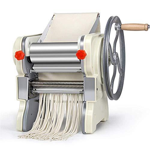 YUXIwang Máquina de pasta Pasta fresca Hacer Pasta Máquina manual del fabricante de la máquina Pasta Pasta manivela de acero inoxidable máquina de rodillos de fideos fabricante de la pasta fresca Cort