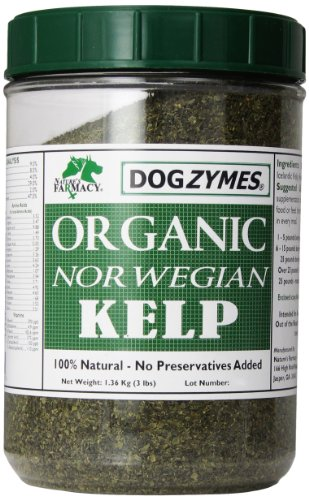 Dogzymes Organic Norwegian Kelp for Pets, 3-Pound