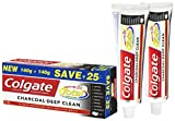 Colgate Total Charcoal Deep Clean Toothpaste (120gm + 120gm Total 240gm)