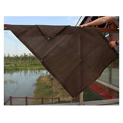 LSSB Malla De Sombreo HDPE Cifrado De 6 Pines Resistente A Los Rayos Ultravioleta Anti-envejecimiento Velas De Sombra para Exterior Patio Interior Jardín Planta Granero Invernadero, Personalizable