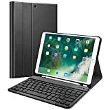 Fintie Keyboard Case for iPad Air 3rd Gen 10.5' 2019 / iPad Pro 10.5' 2017 - SlimShell Stand Protective Cover w/Magnetically Detachable Wireless Bluetooth Keyboard and Pencil Holder, Black
