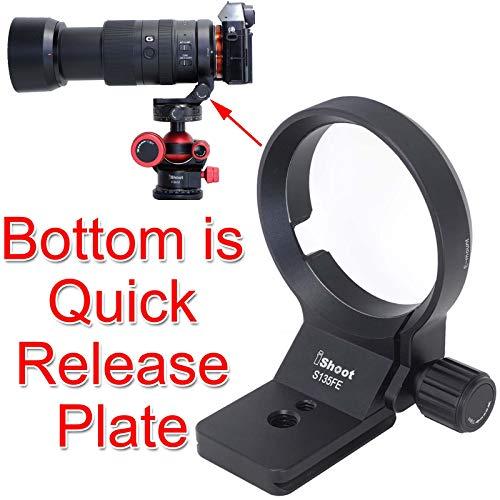 Lens Collar Tripod Mount Ring Support Bracket Holder for Sony FE 135mm f/1.8 GM, E 70-350mm f/4.5-6.3 G OSS, E 16-55mm f/2.8 G, FE Mount Tamron 28-75mm f/2.8 Di III RXD & 17-28mm f/2.8 Di III RXD