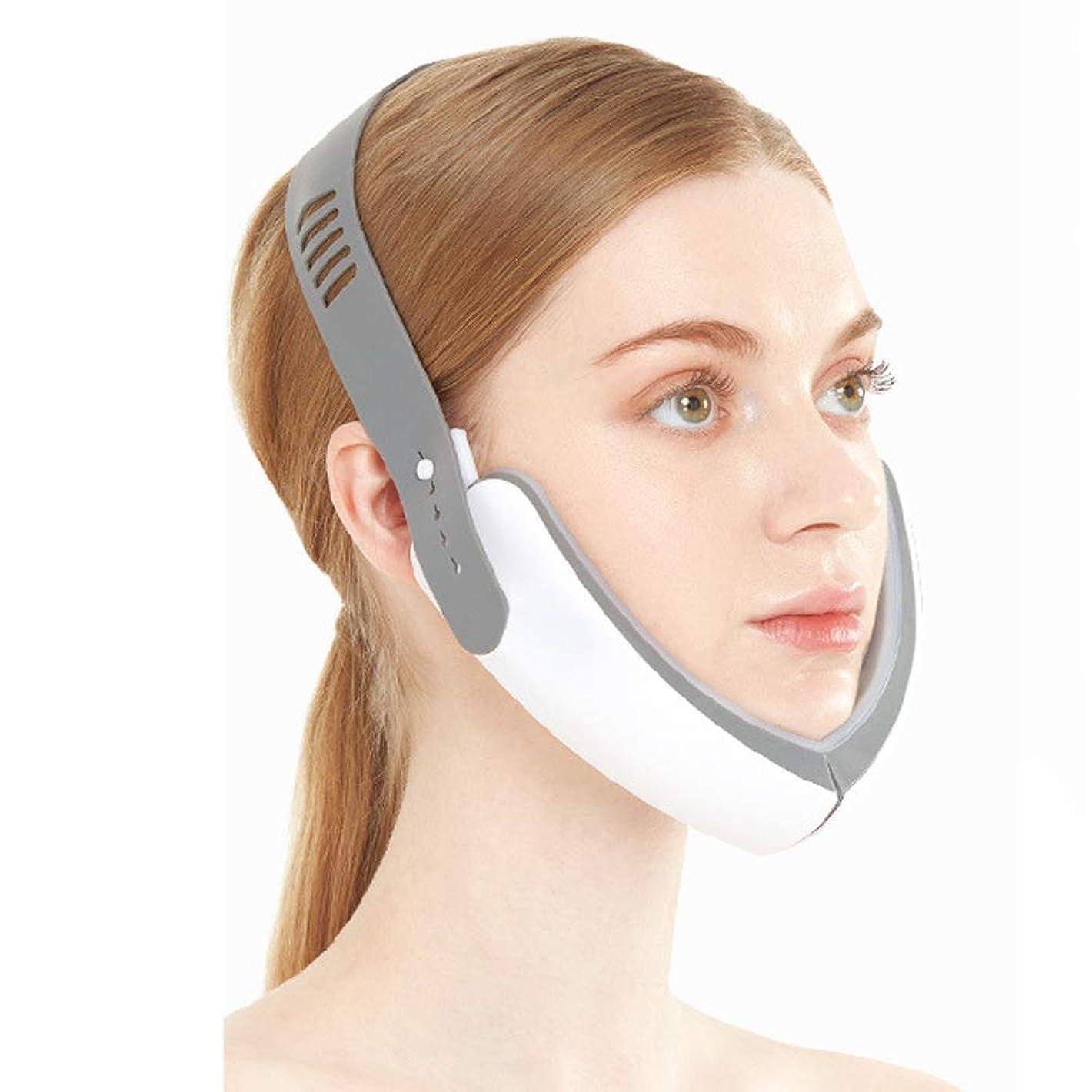 見込み操るエミュレートする電気V字型フェイシャルマッサージリフティング、ダブルジョー締め付けケア薄い顔ツールフェイシャル薄い顔美容機を減らします