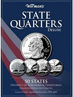 State Quarters Deluxe 50 States, District of Columbia & Territories: Philadelphia & Denver Mint Collection: Collector's Quarter Folder 1999-2009 (Other merchandise) - Common