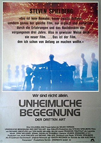 Unheimliche Begegnung der dritten Art (1977) | original Filmplakat, Poster [Din A1, 59 x 84 cm]