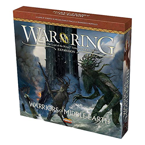 Ares Games WOTR009 War of The Ring, Warriors of Middle Earth, Mehrfarbig