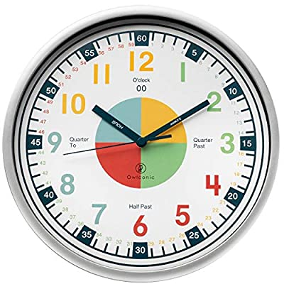 Educational Wall Clock for Kids