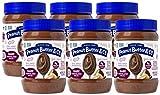 Peanut Butter & Co. Dark Chocolatey Dreams Peanut Butter, Non-GMO Project Verified, Gluten Free, Vegan, 16 Ounce (Pack of 6)