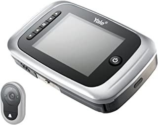 Yale Security AYRD-DDV7001-619 Digital Door Viewer with Internal Memory, Small, Silver