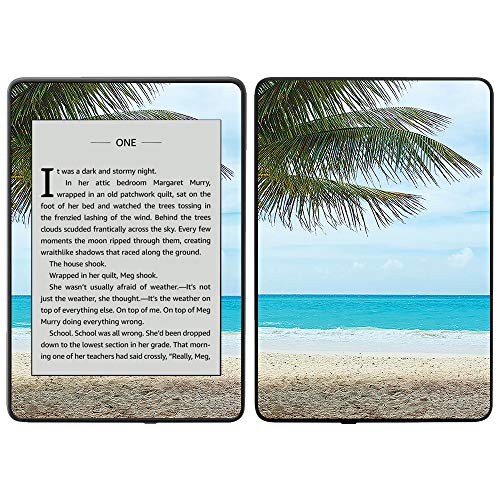 MightySkins Skin Compatible with Amazon Kindle Paperwhite 2018 (Waterproof Model) - Beach Bum | Protective, Durable, and Unique Vinyl Decal wrap Cover | Easy to Apply, Remove| Made in The USA