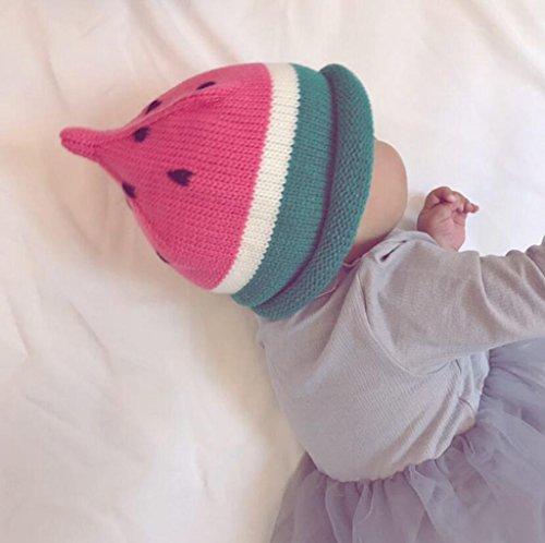 Longless Herfst en winter kinder hoed baby meisje hand breien hoed kinder wol hoed baby hoed