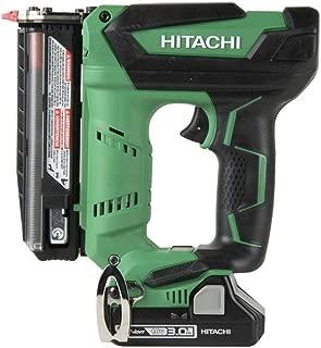 Hitachi NP18DSAL 18V Cordless 1-3/8 in. 23-Gauge Pin Nailer Kit (Renewed)