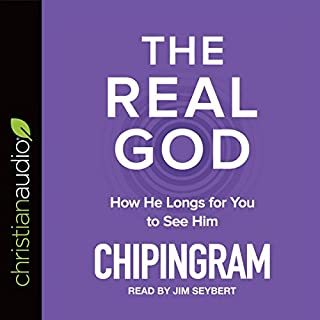 The Real God audiobook cover art