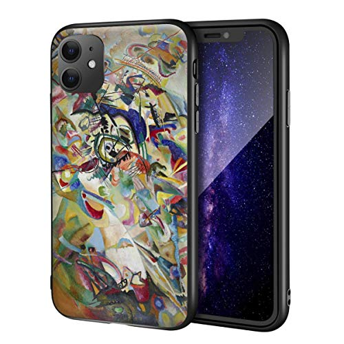 Wassily Kandinsky para iPhone 11 Case/Art Cellphone Case/Giclee UV Reproduction Print on Mobile Phone Cover (Composición VII)