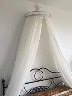 HOMEJYMADE Princess Crown Bed Canopies,Mosquito net Bed Canopy for Girls Bedding Hanging Decoration-B