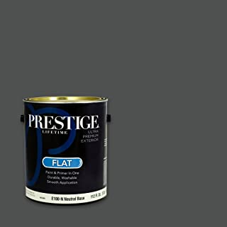 Prestige, Greens and Aquas 9 of 9, Exterior Paint and Primer In One, 1-Gallon, Flat, Chalkboard