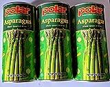 Polar Asparagus - Whole Spearsin Brine, 15 Oz. (3 Pack)