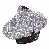 Coprisedile auto neonato infantile allattamento leggero ed elastico e traspirante bambino sicurezza multiuso allattamento copertura copertura sciarpa