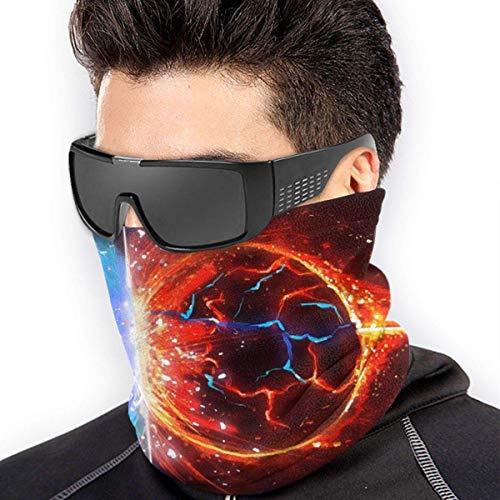 Tour de Cou Cagoule Microfibre Chapeaux Tube Masque Visage, Star War Soft Neck Warmer Gaiter Face Protective Scarf Balaclavas Unisex
