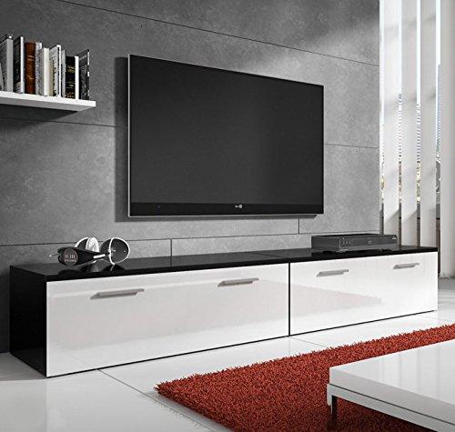 muebles bonitos –Mueble TV Modelo Arona en Color Blanco 2m: Amazon.es: Hogar