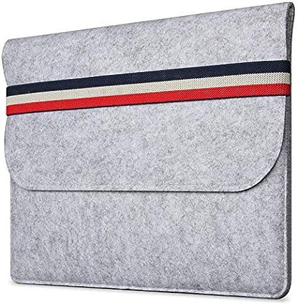 per MacBook Air da 15 Borsa a tracolla per computer portatile e tablet colore: Grigio per PC Wimagic con fodera in feltro