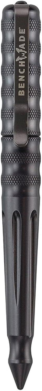 BenchmadeAluminum Pen, Charcoal, Black Ink