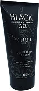 Gel Mega Fix Black, 150 g, KNUT Hair Care