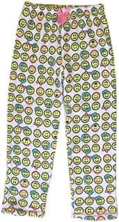Image of Plush Emoji Fleece Pajama Pants for Girls - See More Prints