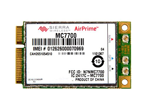 Sierra Wireless MC7700 - Gobi 4000 LTE, 3G, HSPA+, EDGE, GSM WWAN ワイヤレスWAN カード