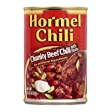 Hormel Chili Chunky Beef Chili with Beans, 15 Ounce