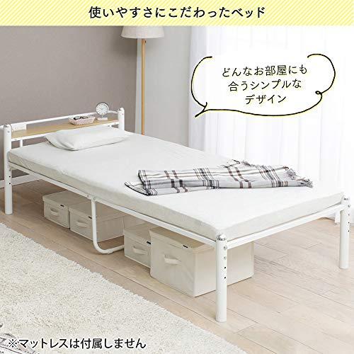 『宮付コンセント付きシングルベッド』