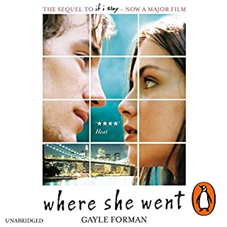 Where She Went                   Written by:                                                                                                                                 Gayle Forman                               Narrated by:                                                                                                                                 Dan Bittner                      Length: 5 hrs and 18 mins     Not rated yet     Overall 0.0