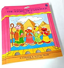 Shalom Sesame Passover Coloring/Activity Book 12-Pack (dozen)