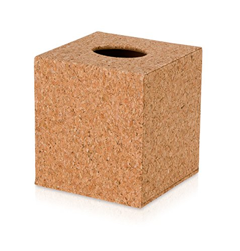 Möve 44174-071 Boîte à mouchoirs, Cork, 13 x 13 x 14,5 cm