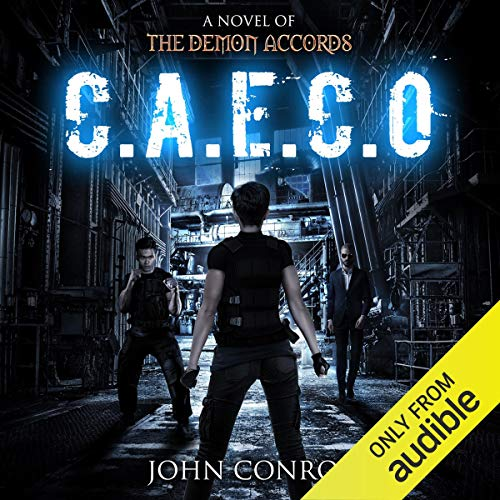 C.A.E.C.O. audiobook cover art