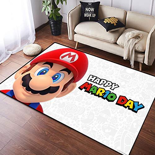Coobal Super Mar-io Odyssey - Alfombra grande para suelo de yoga, alfombra para niños y dormitorios de 3 x 5 pies (90 cm x 150 cm) 6'x8'(182cmx243cm) Super-mario-odisey161
