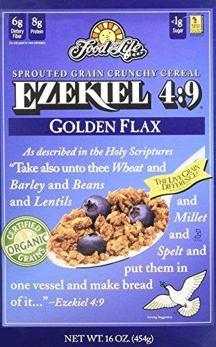 Food For Life Cereal Ezekiel 4:9 Golden Flax 16 OZ