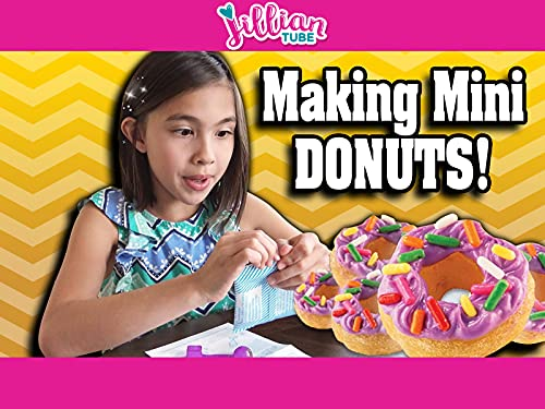 Magical Mini Donuts : Cooking with Jillian