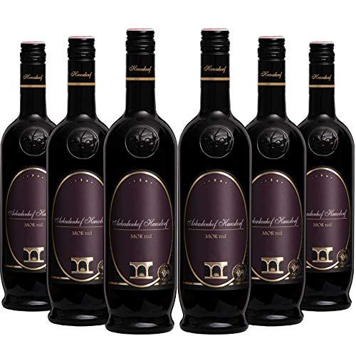 Bio MORred Rotwein Cuvée 2013 (6x 0.75l) | Roesler & Zweigelt | Bioweingut Arkadenhof Hausdorf | Österreichischer Qualitätswein Trocken | Wagram | bio vegan barrique Gold-prämiert