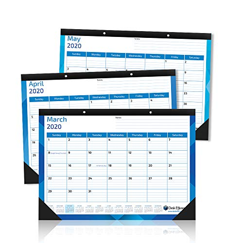 """Desk Calendar 2018-2019 (15"""" x 12"""") 