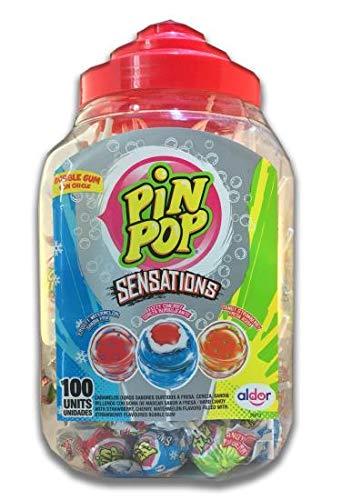 Pin Pop SENSATIONS Lolly's (100)