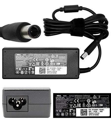 Genuino original DELL 90W Adaptador de CA Fuente de alimentación Cargador y...