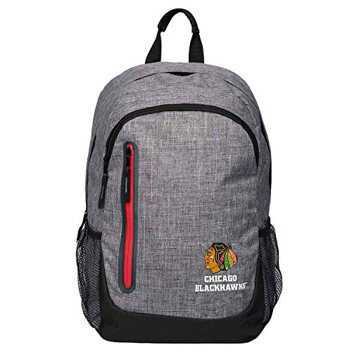 Forever Collectibles FOCO Chicago Blackhawks Bold Grey NHL Sac à Dos