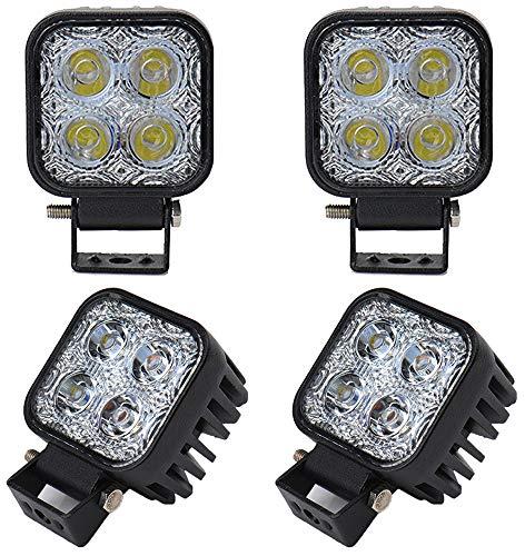 Yunt 4 X 12W LED Lampe Square Scheinwerfer Kaltwei? Spot IP67 Arbeitsscheinwerfer from Deutsche Lokal Warenhaus