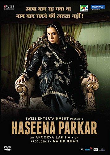 Haseena Parkar Hindi DVD - Shradda Kapoor Original 2018 Bollywood Movie, Film with English Subtitles