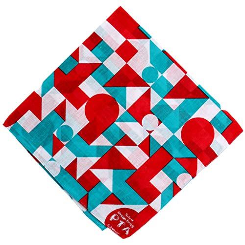 JAGETRADE Unisex Halstuch, Segelmotiv, geometrisch, quadratisch, Ruder, Boot, Kreuz-Print, Stirnband für den Außenbereich, Sonnenschutz, Multifunktions-Halstuch 6